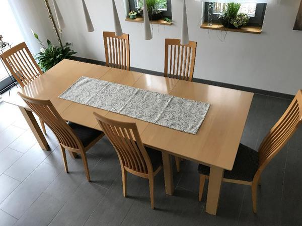 esstisch ahorn neu und gebraucht kaufen bei. Black Bedroom Furniture Sets. Home Design Ideas