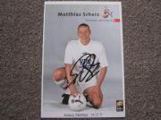 Autogrammkarten vom 1 FC Köln
