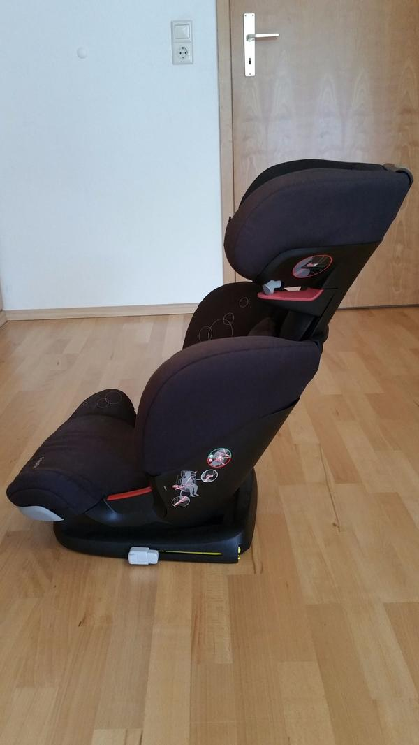 autositz maxi cosi mit isofix haltesystem f r kinder ab 3. Black Bedroom Furniture Sets. Home Design Ideas