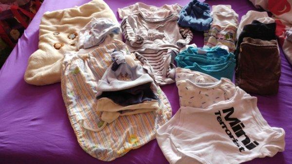 Baby Sachen(36tlg.) als Paket für Jungen gebraucht kaufen  01159 Dresden
