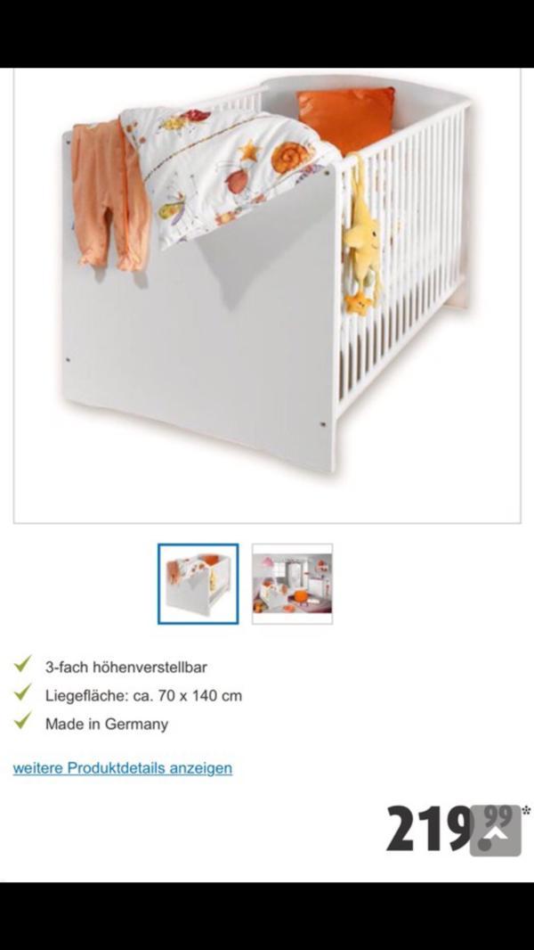matratze babybett gebraucht kaufen nur 4 st bis 60 g nstiger. Black Bedroom Furniture Sets. Home Design Ideas