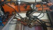 Bagger-Heckbagger-Traktor.