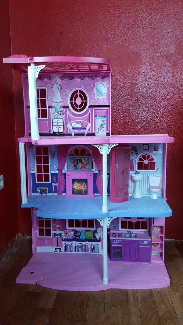 barbie haus m bel in schwarzenbruck sonstiges kinderspielzeug kaufen und verkaufen ber. Black Bedroom Furniture Sets. Home Design Ideas