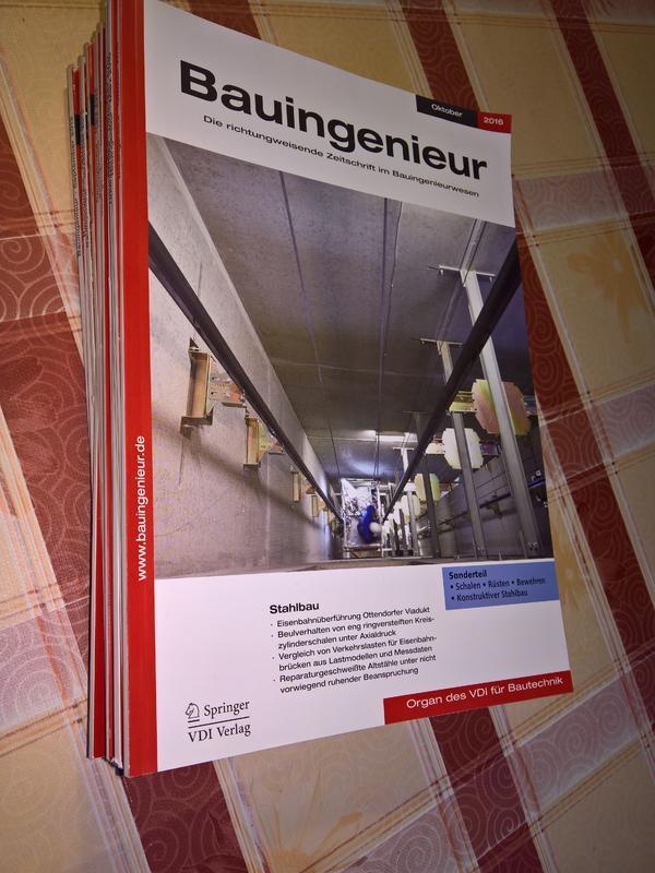 Bauingenieur Fachzeitschrift 14x » Zeitschriften, Magazine