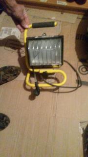 Baulstellenlampe 500 Watt