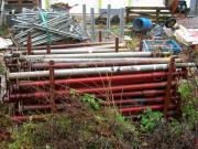 Baustützen 170-280 cm - 17 St Stahlrohr-