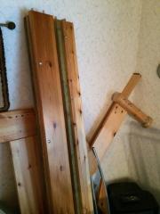 Bett - Massivholz
