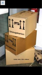 BIETE 100 UMZUGSKARTONS Firma Zapf -