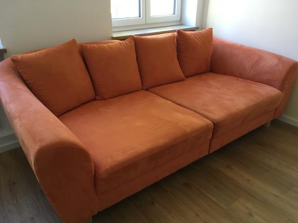 big sofa orange in münchen - polster, sessel, couch kaufen und, Hause deko