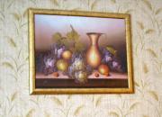 Bild mit Weintrauben