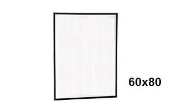 Bilderrahmen schwarz 60x80 FP 10 -