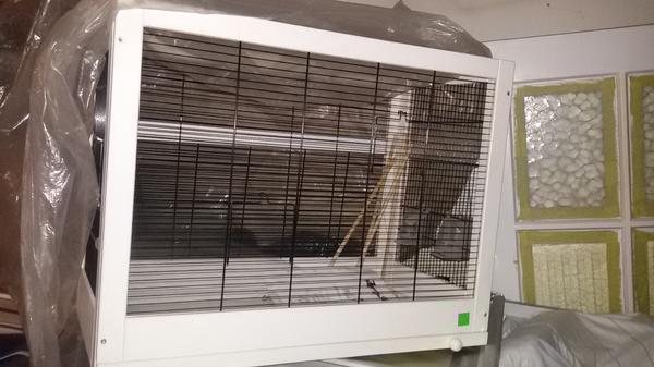 Bitte Wunderschöne moderne Vögel Käfig - Schwabach - Bitte Wunderschöne moderne Vögel Käfig Neue.Noch nicht benutzte.NP.80EURL:78H:60B:42Bitte Leute, die Preis ist festUnd nur Abholung - Schwabach