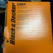 Black und Decker Kreissäge - Aufsatz