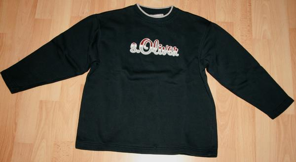 Blaues Sweat-Shirt - Größe 128 - 134 - Pullover - von S. OLIVER gebraucht kaufen  67117 Limburgerhof