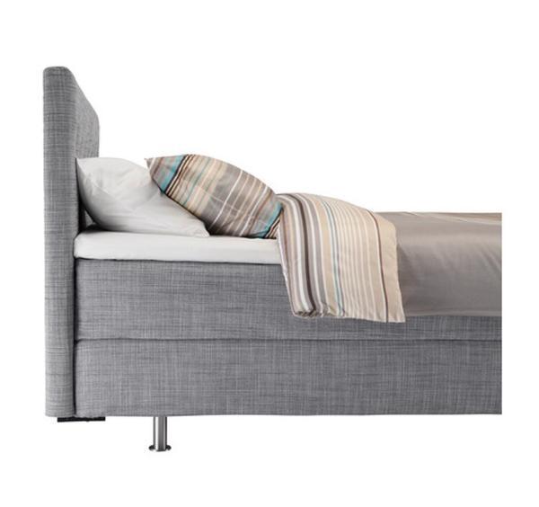 boxspringbett ikea 140 200. Black Bedroom Furniture Sets. Home Design Ideas