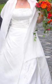 Brautkleid in Weiss