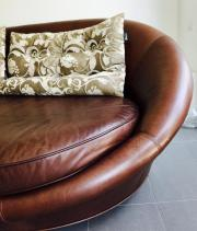 Bretz Leder-Sofa