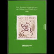 Briefmarken BRD Jahreszusammenstellung 1990