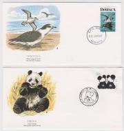 Briefmarken mit Tiermotiven -