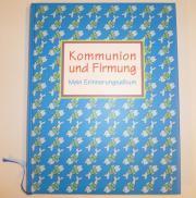 Buch Kommunion und Firmung Erinnerungsalbum