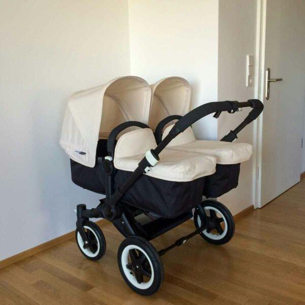 bugaboo donkey twin all black edition zwillingswagen in berlin kinderwagen kaufen und. Black Bedroom Furniture Sets. Home Design Ideas
