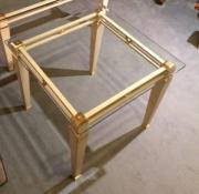 Couchtisch glas messing haushalt m bel gebraucht und for Beistelltisch messing glasplatte