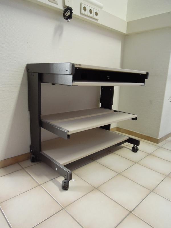 Computertsch rollbar Beistelltisch Schreibtisch Büromöbel Tisch ...