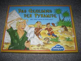Gesellschaftsspiele - Das Geheimnis der Pyramide Brettspiel