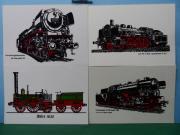 DB - Eisenbahn - Dampflok -