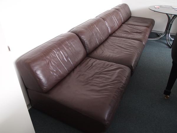 München Designermöbel de sede ds 76 schlafcouch sofa vintage retro daybed leder