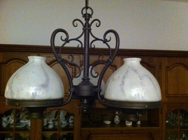Metall lampe neu und gebraucht kaufen bei - Deckenlampe rustikal ...