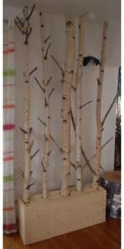 deko birken ste birkenst mme birkenstamm kratzbaum garderobe in jesenwang pflanzen kaufen und. Black Bedroom Furniture Sets. Home Design Ideas