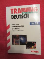 Deutsch Training Grammatik