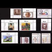 Deutsche Briefmarken aus dem Jahr