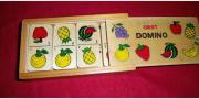 Domino für Kinder aus Holz