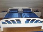 Doppelbett massiv m.