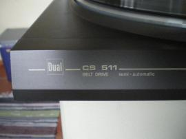 Plattenspieler, Tonband - Dual CS 511 Plattenspieler