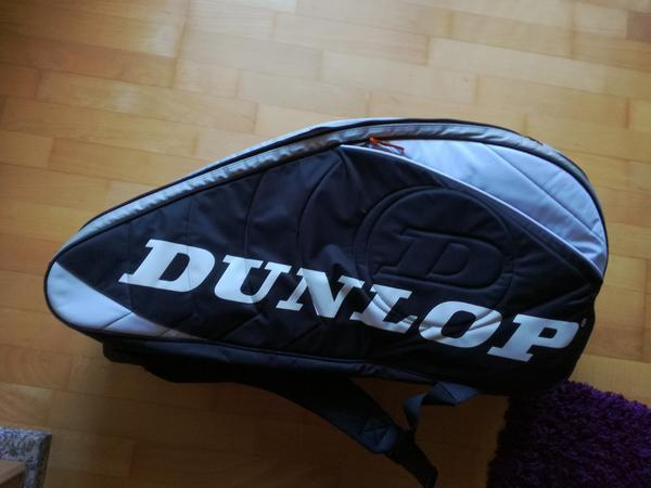 Dunlop Squash Bag / Rucksack - Worms - Dunlop professionaler Squashbag, ca. 3Monate in Gebrauch, in Top-Zustand - Worms