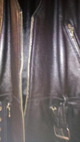 Damenbekleidung - Echt Leder Weste Versandkosten