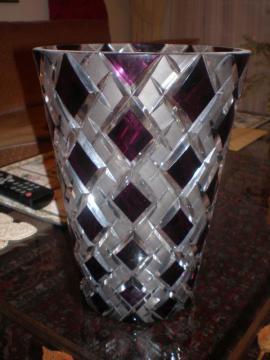 Glas, Porzellan antiquarisch - edle Bleikristallvasen handgeschliffen