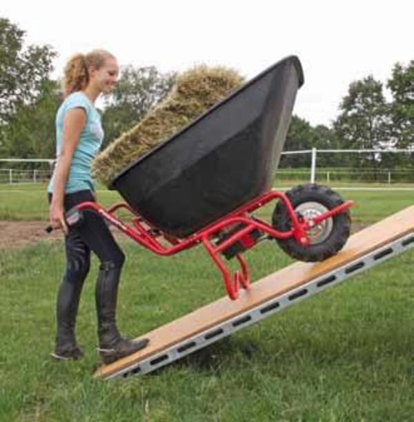 elektrisch fahrbare schubkarre transportkarre kippbar 899. Black Bedroom Furniture Sets. Home Design Ideas