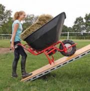 elektrisch fahrbare Schubkarre Transportkarre kippbar