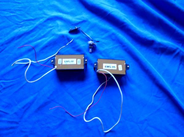 EMG-Tonabnehmer 81 » Gitarren/-zubehör