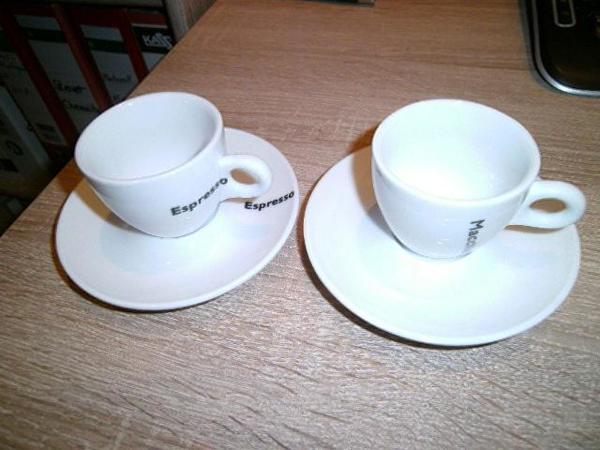 Espresso Tassen - Bad Rappenau - Sie erhalten 2 Stück Espresso Tassen mit Unterteller, die Tasse sind von ME Design sie sind neuwertig. - Bad Rappenau