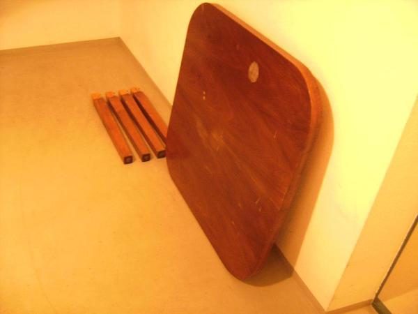 Esstisch Tisch 50er Jahre Massiv Holz Funier In Unterammergau