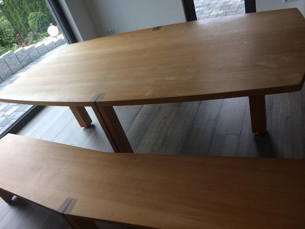 esszimmertisch mit sitzbank buche echtholz in elztal, Esstisch ideennn