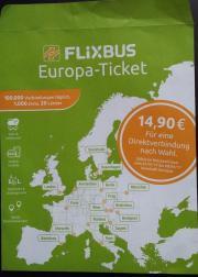 Europa-Ticket von