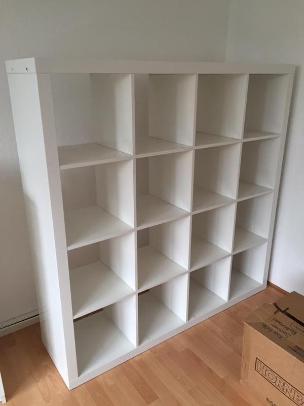 expedit kallax hochglanz wei 4x4 in heidelberg ikea. Black Bedroom Furniture Sets. Home Design Ideas