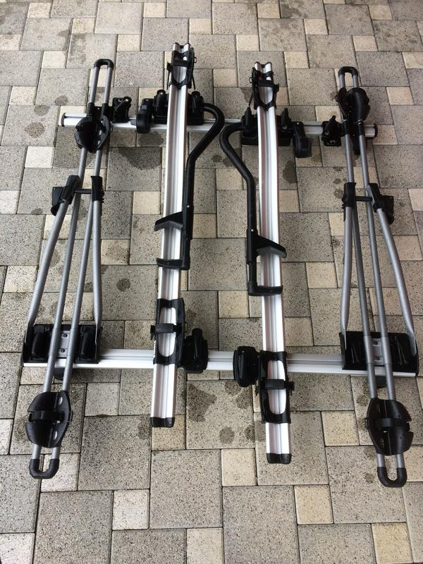 fahrradtr ger thule f r dachreling fahrzeuge in bersaxen. Black Bedroom Furniture Sets. Home Design Ideas