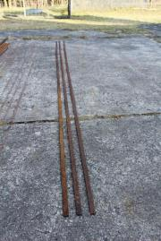 Flach-Eisen 3x 368cm lang 20x6
